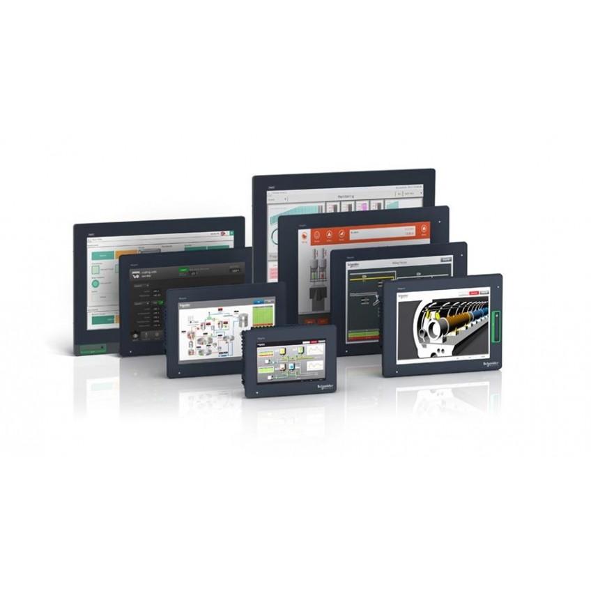 Οθόνες απεικόνισης και αφής HMI