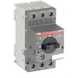 Θερμομαγνητικός διακόπτης 0,4-0,63Α 100kA MS132-0.63