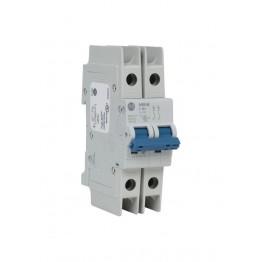 Αυτόματη ασφάλεια θερμομαγνητική 2x63A χαρακτηριστικής D