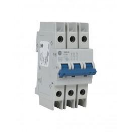 Αυτόματη ασφάλεια θερμομαγνητική 3x4A χαρακτηριστικής D